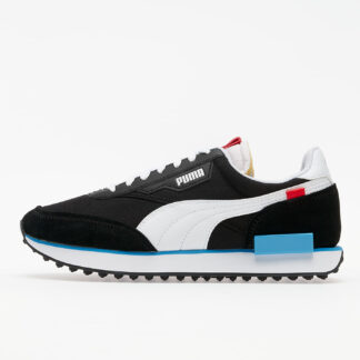 Puma FUTURE RIDER PLAY ON Puma Black-Puma White-Ibiza Blue 37114914