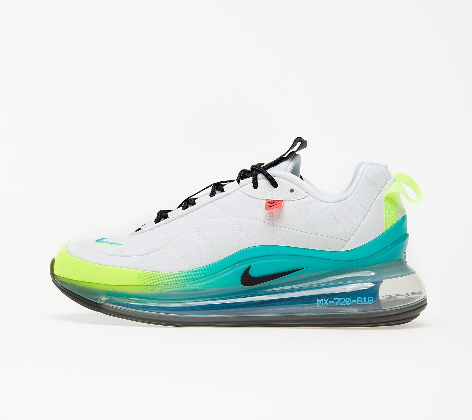 Nike MX-720-818 White/ Black-Blue Fury-Volt CT1282-100