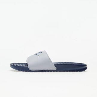 Nike Benassi JDI Wolf Grey/ Midnight Navy 343880-024