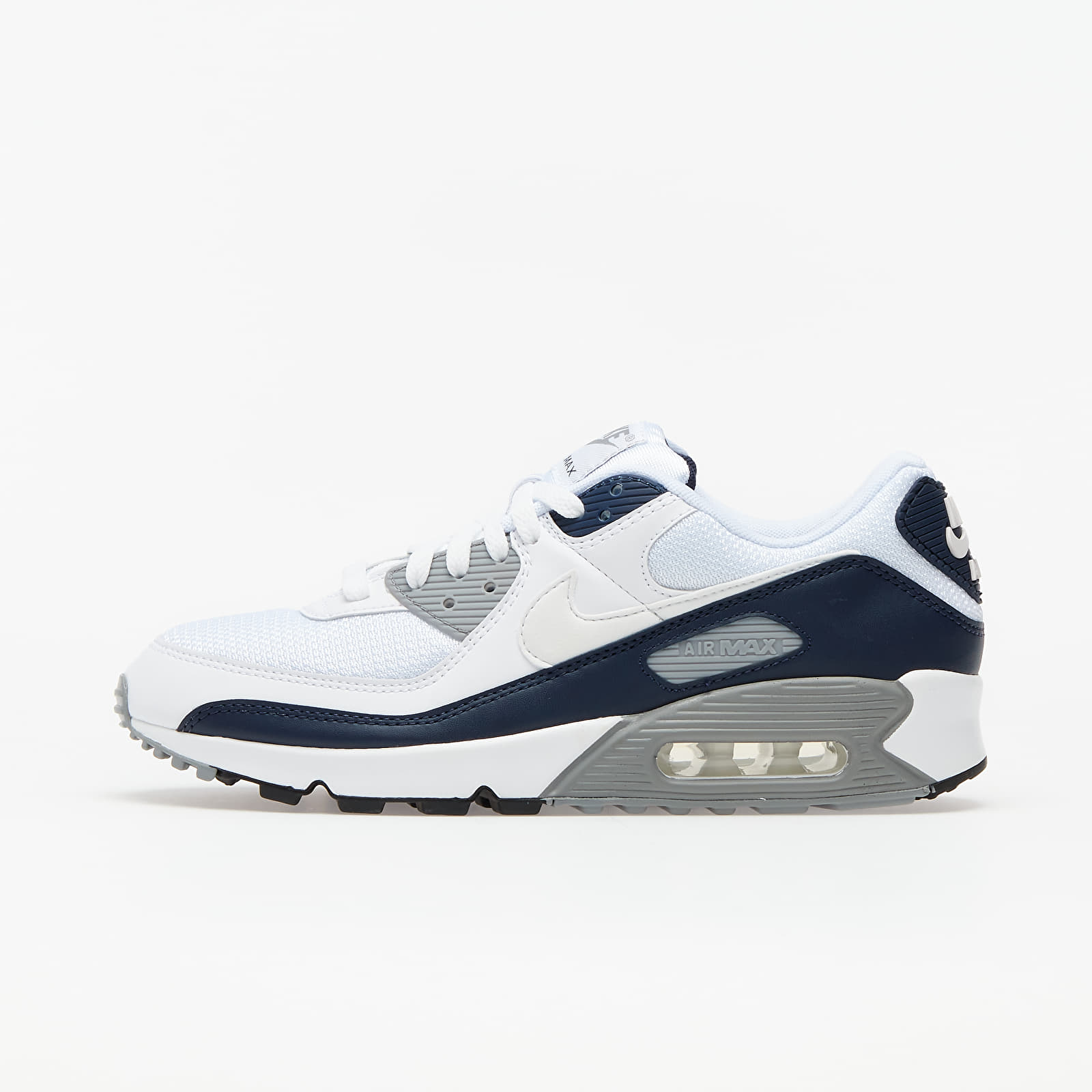 Nike Air Max 90 White/ White-Particle Grey-Obsidian CT4352-100