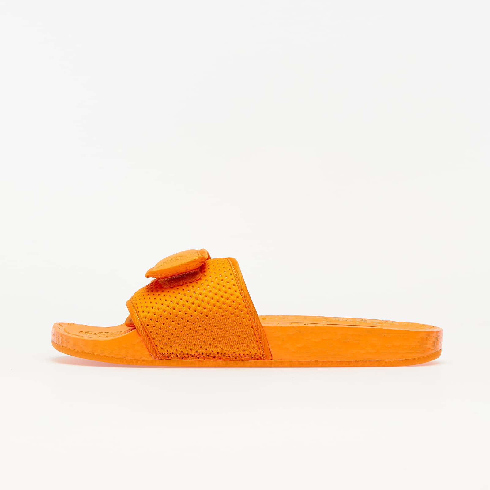 adidas x Pharrell Williams Chancletas HU Bright Orange/ Bright Orange/ Bright Orange FV7261