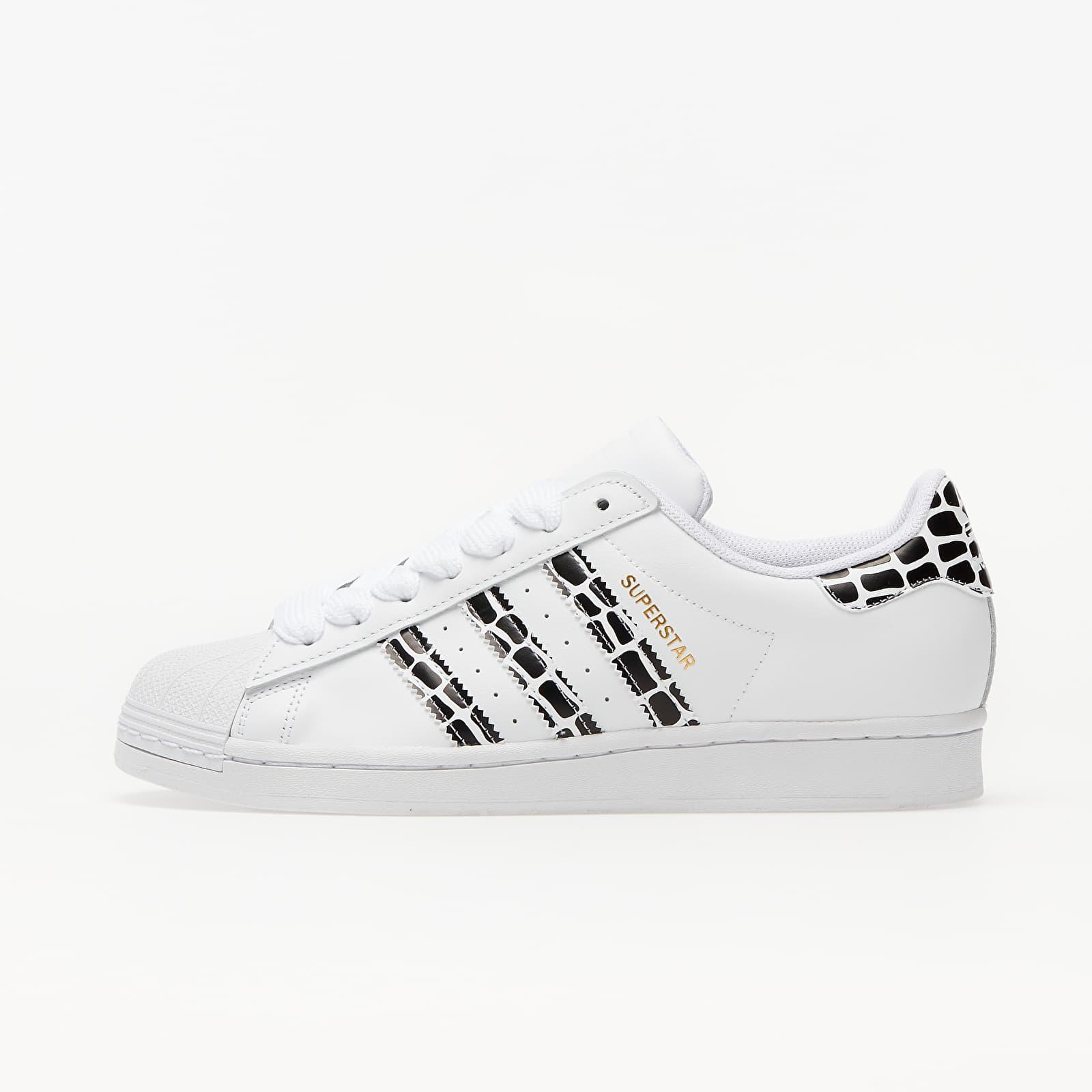 adidas Superstar W Ftw White/ Gold Metalic/ Core Black FV3452