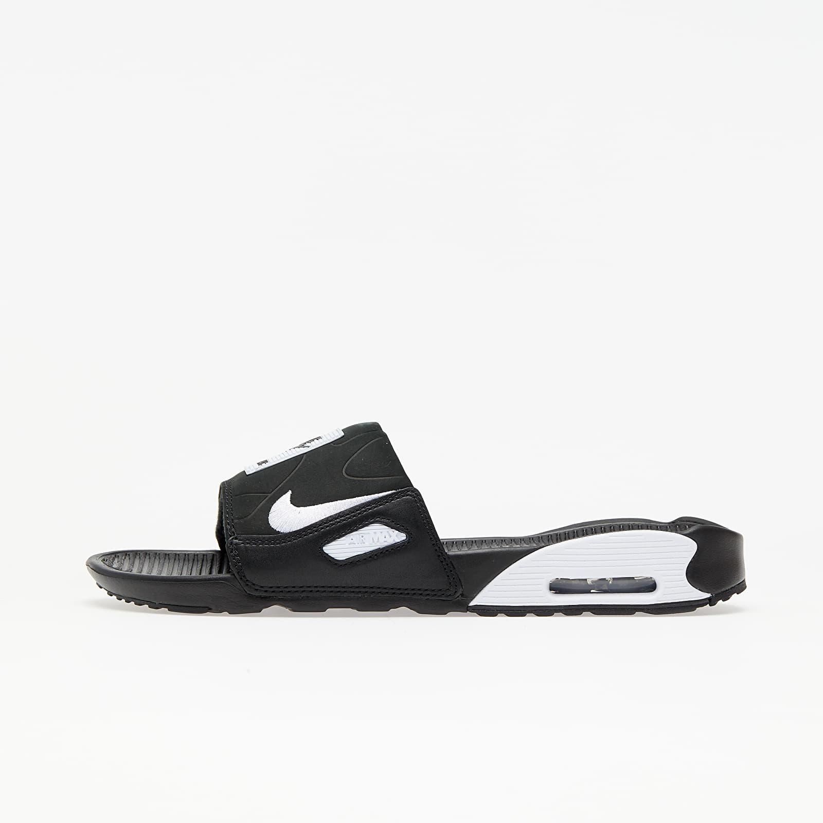 Nike Air Max 90 Slide Black/ White BQ4635-002
