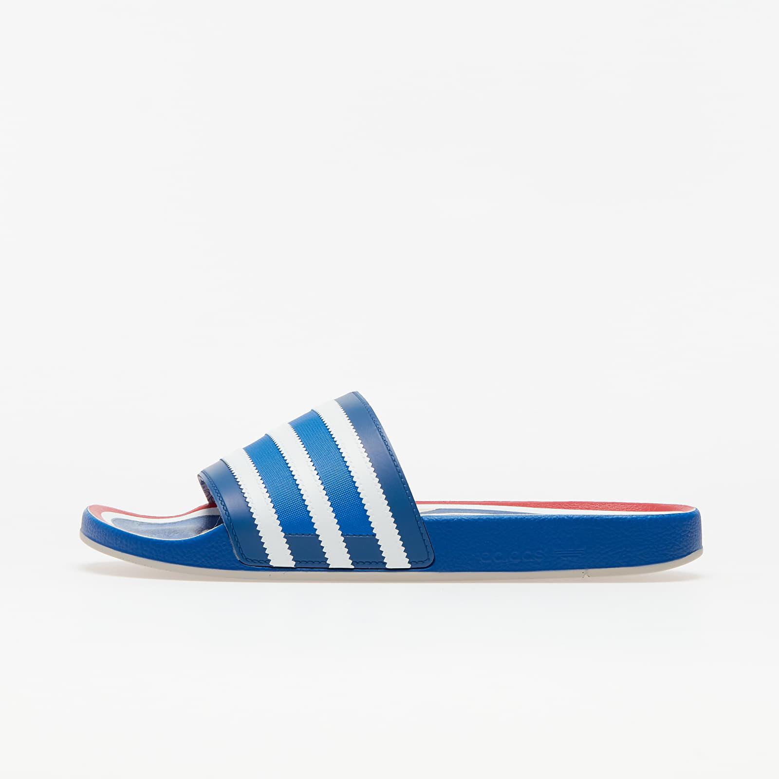 adidas Adilette Premium Blue/ Ftw White/ Hi-Res Red FX4429