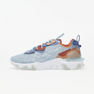 Nike React Vision Lt Armory Blue/ Pure Platinum-Amber Brown CD4373-401