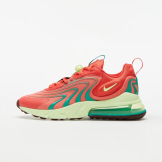 Nike Air Max 270 React ENG Track Red/ Barely Volt-Magic Ember CJ0579-600