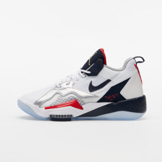 Jordan Zoom '92 White/ Obsidian-True Red-Metallic Silver CK9183-101
