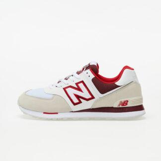 New Balance 574 Beige/ White/ Red ML574NLA