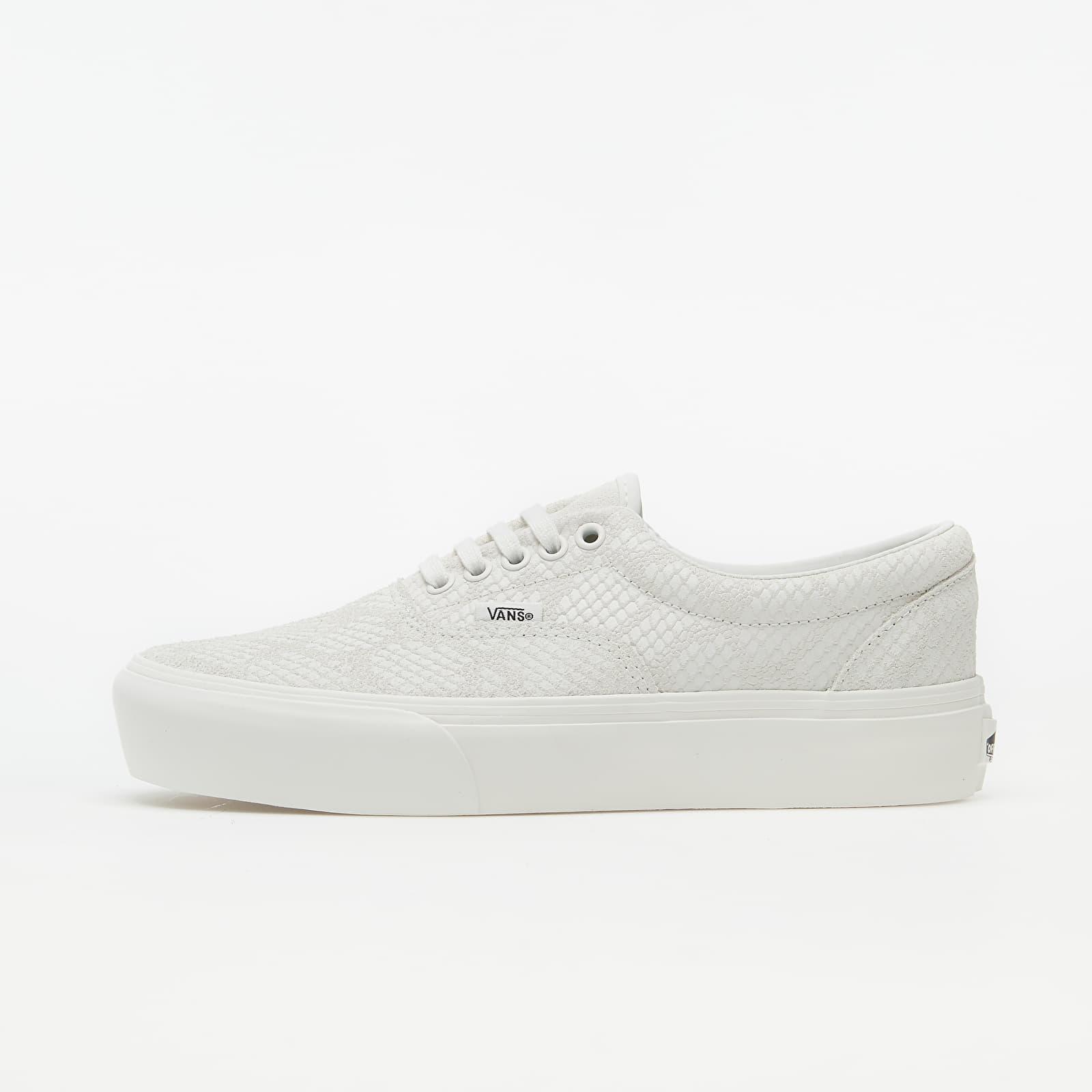 Vans Era Platform (Animal) Emboss/ Blanc De Blanc VN0A3WLU1VK1