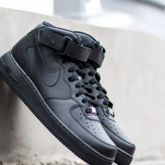 Nike Wmns Air Force 1 Mid ´07 LE Black/ Black 366731-001