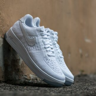 Nike W Air Force 1 Flyknit Low White/ White 820256-101