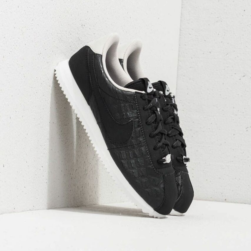 Nike Cortez Basic Leather SE (GS) Black/ Black-Light Bone AA3043-001