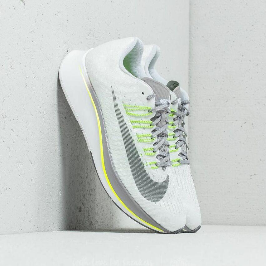 Nike W Zoom Fly White/ Gunsmoke-Atmosphere Grey 897821-101