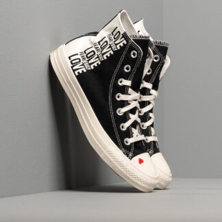 Converse Chuck Taylor All Star Black/ Egret/ University Red 567309C