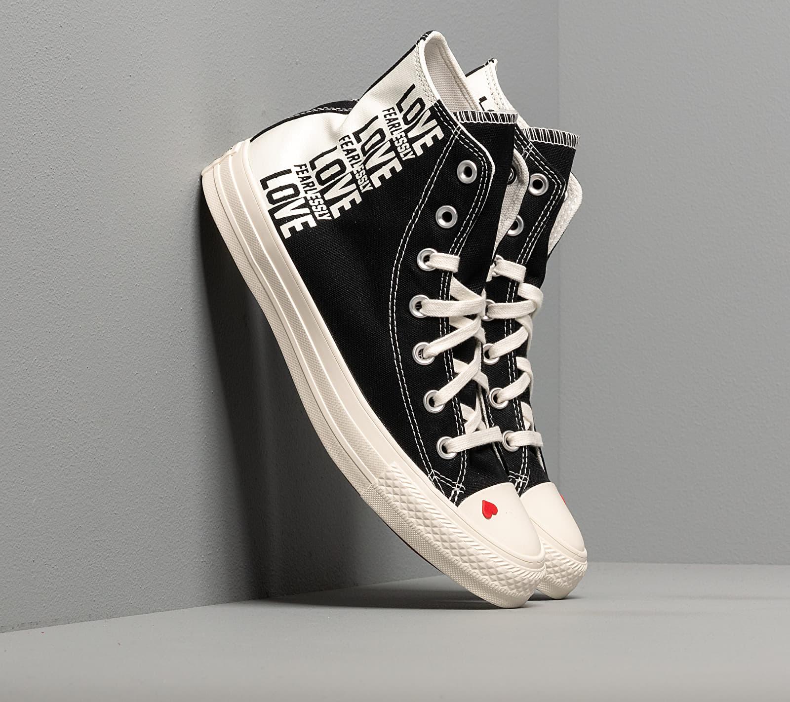 Converse Chuck Taylor All Star Black/ Egret/ University Red 567309C