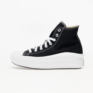 Converse Chuck Taylor All Star Move Black/ Natural Ivory/ White 568497C