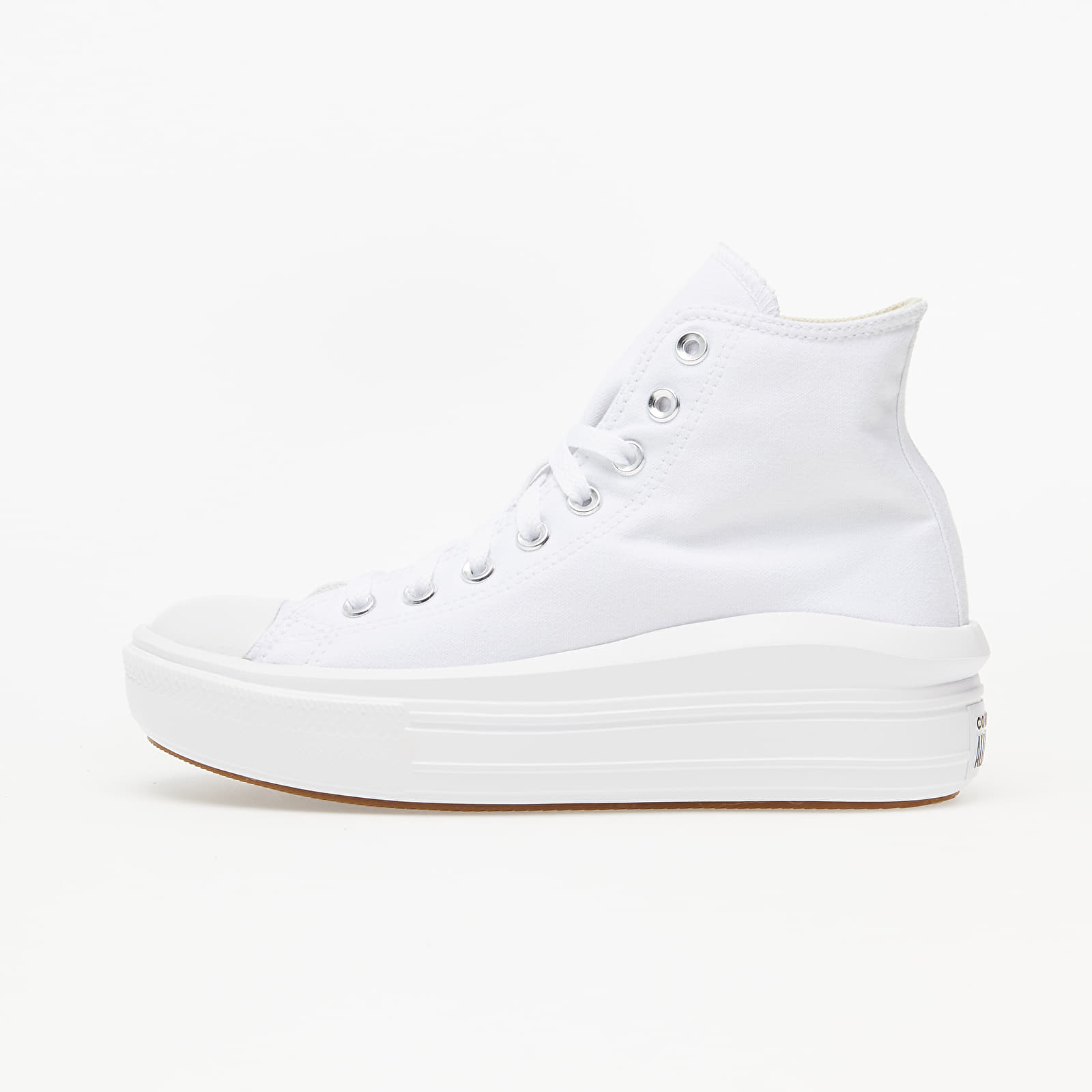 Converse Chuck Taylor All Star Move White/ Natural Ivory/ Black 568498C