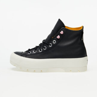Converse Chuck Taylor All Star Lugged Winter Black/ Saffron Yellow/ Egret 568763C