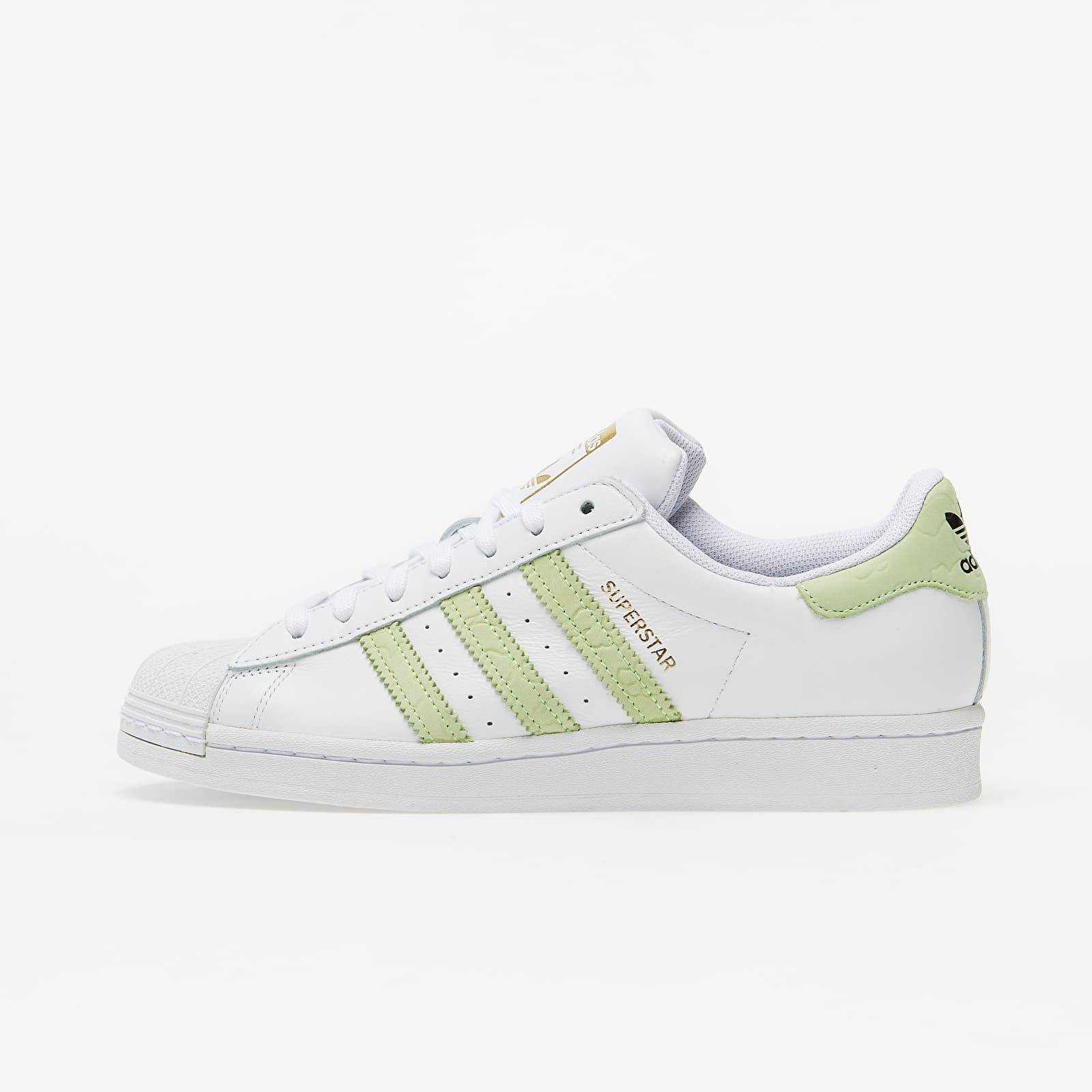 adidas Superstar W Ftw White/ Hi-Res Yellow/ Gold Metalic FW3568
