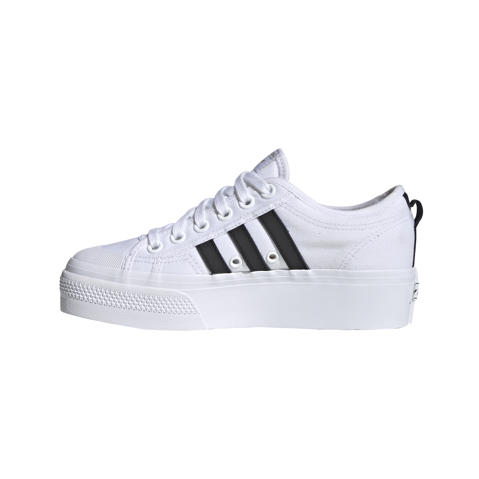 adidas Nizza Platform W Ftw White/ Core Black/ Gold Metalic FX8538