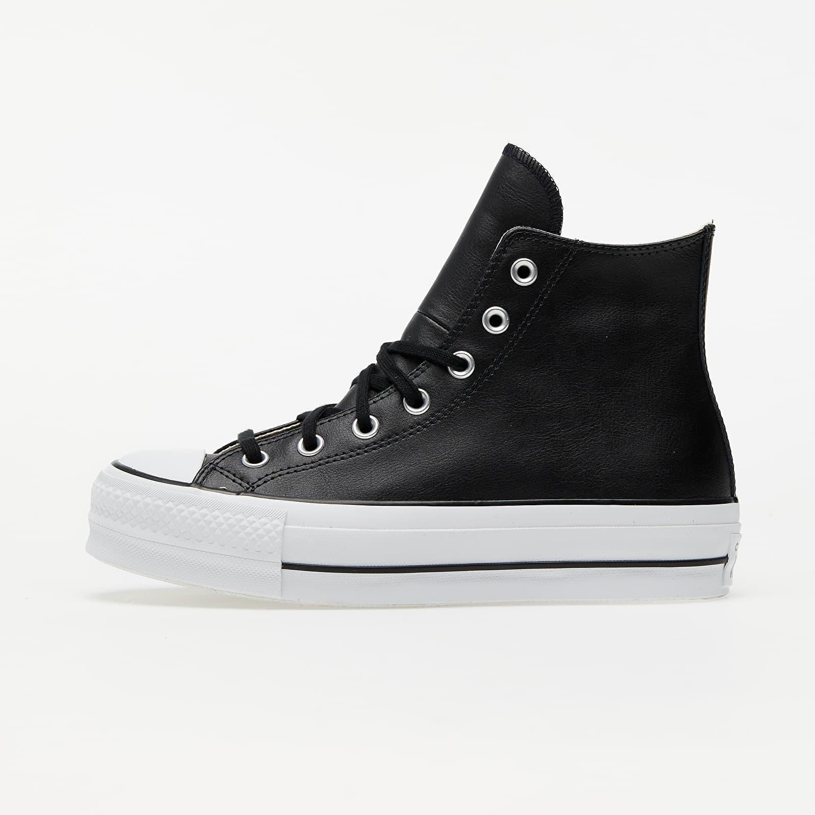 Converse Chuck Taylor All Star Lift Clean Black/ Black/ White 561675C