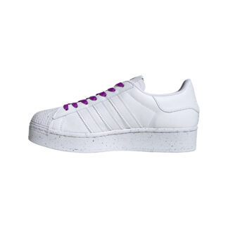 adidas Superstar Bold W Clean Classics Ftw White/ Ftw White/ Shock Purple FY0129