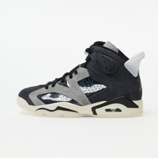 Air Jordan Wmns 6 Retro Black/ Chrome-Lt Smoke Grey-Sail CK6635-001