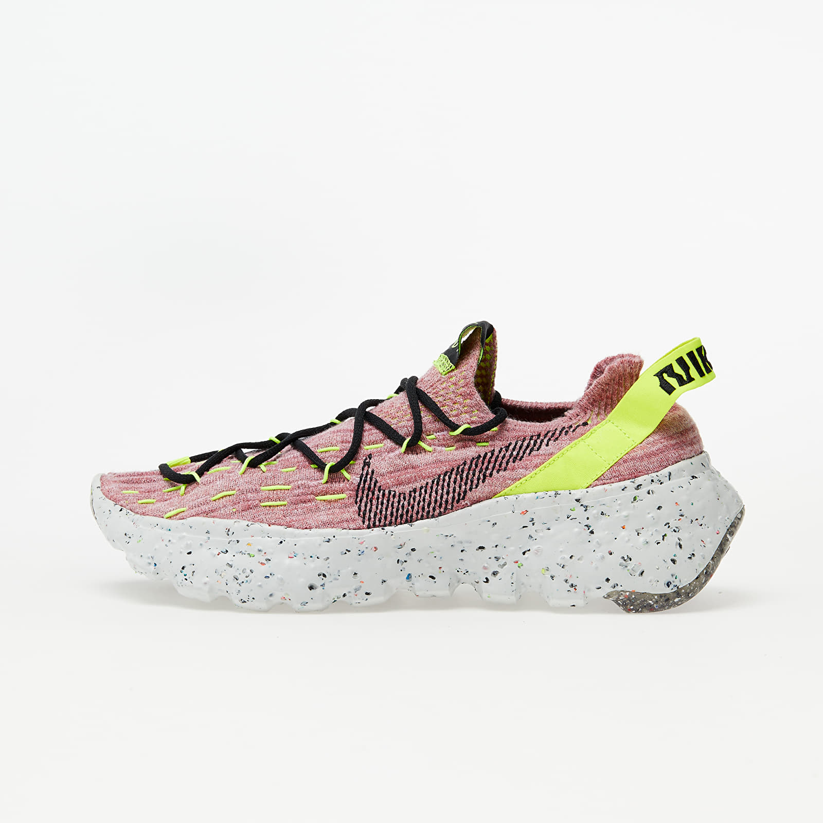 Nike W Space Hippie 04 Lemon Venom/ Black-Lt Arctic Pink CD3476-700