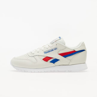 Reebok Classic Leather Chalk/ Vector Red/ Vector Blue FV1081