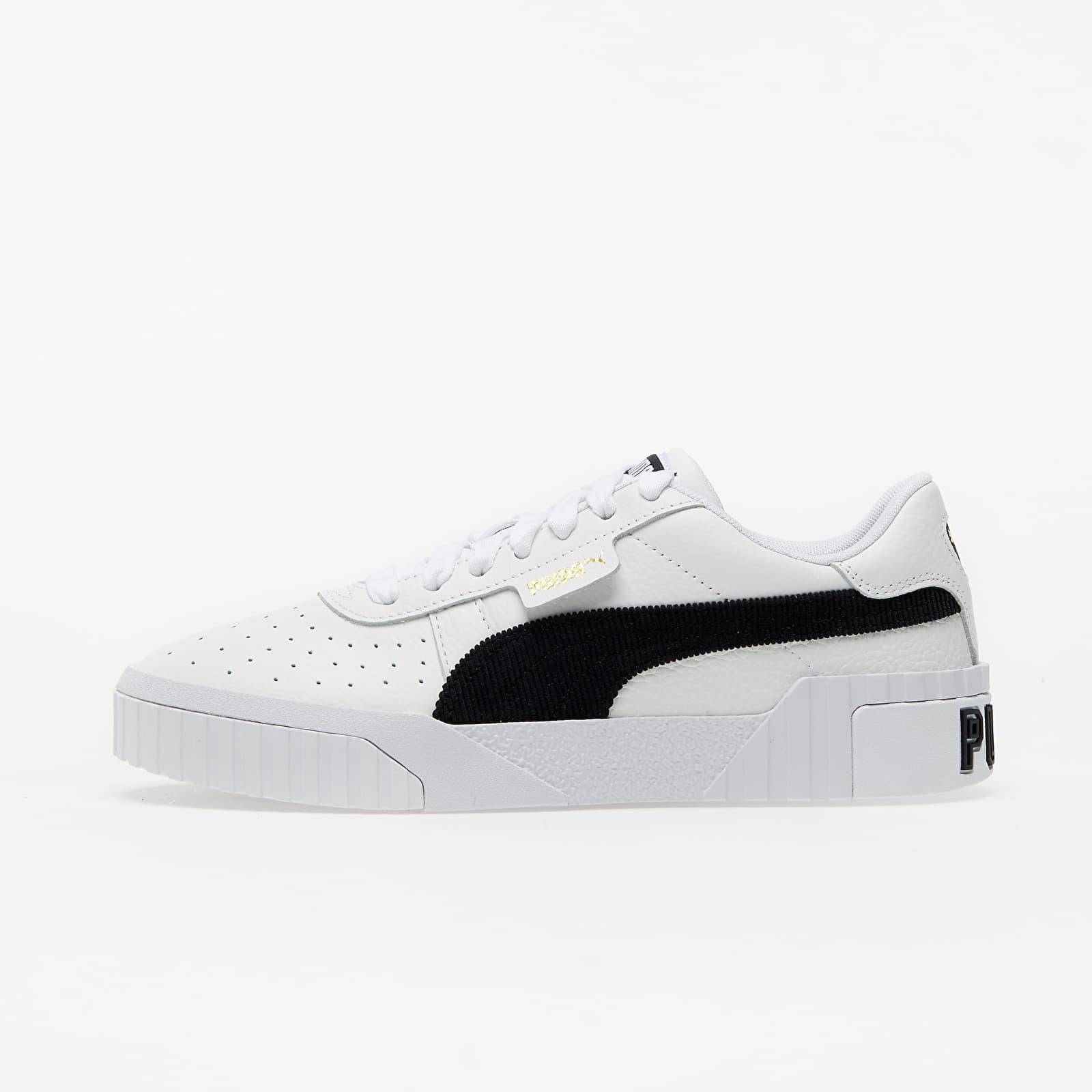 Puma Cali Corduroy Wn s Puma White-Puma Black 37466301