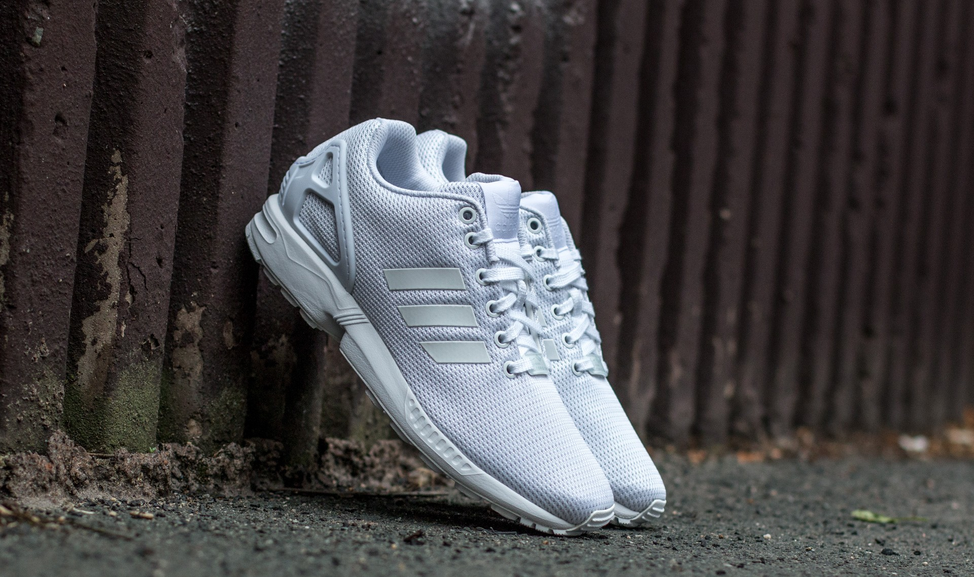 adidas ZX Flux Ftw White/ Ftw White/ Cool Grey S32277