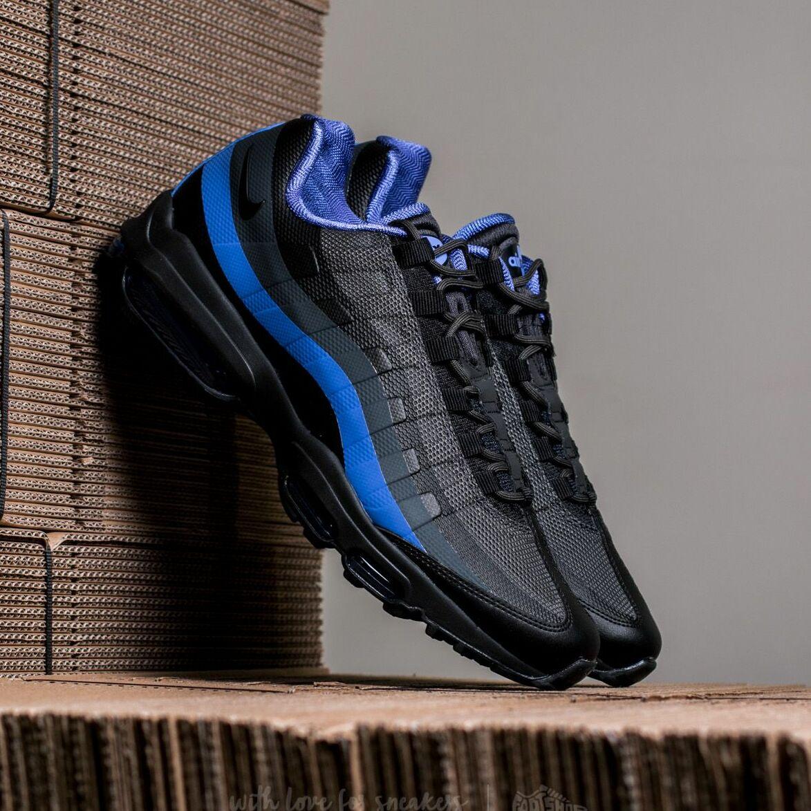 Nike Air Max 95 Ultra Essential Black/ Black-Paramount Blue 857910-004