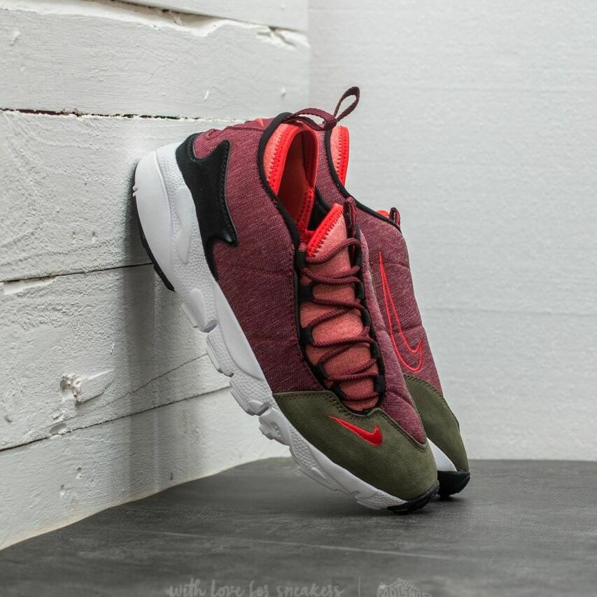 Nike Air Footscape Natural Motion Dark Team Red/ Rush Red 852629-600