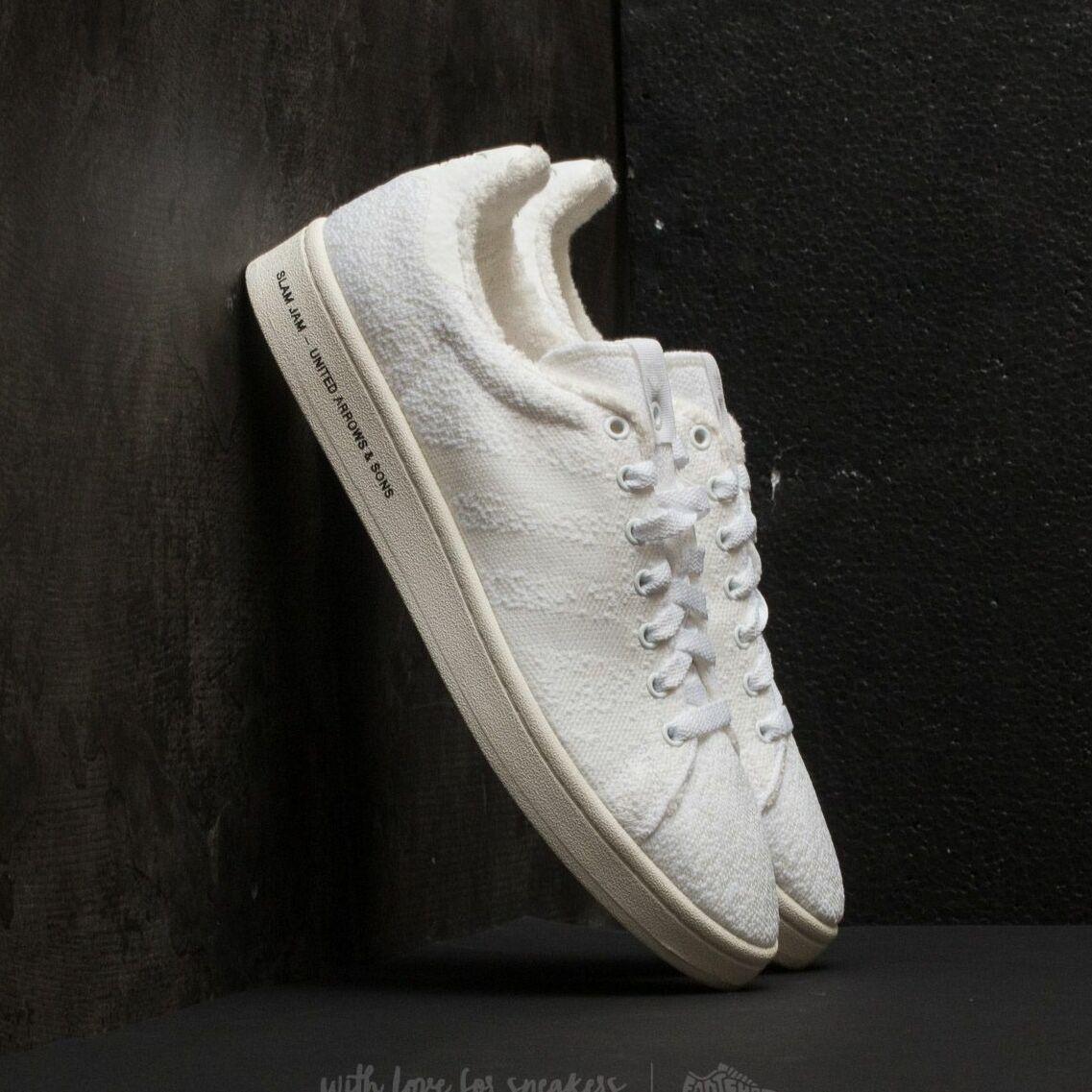 adidas Consortium SE United Arrows & Sons x Slam Jam Campus Footwear White/ Footwear White/ Core White BB6449