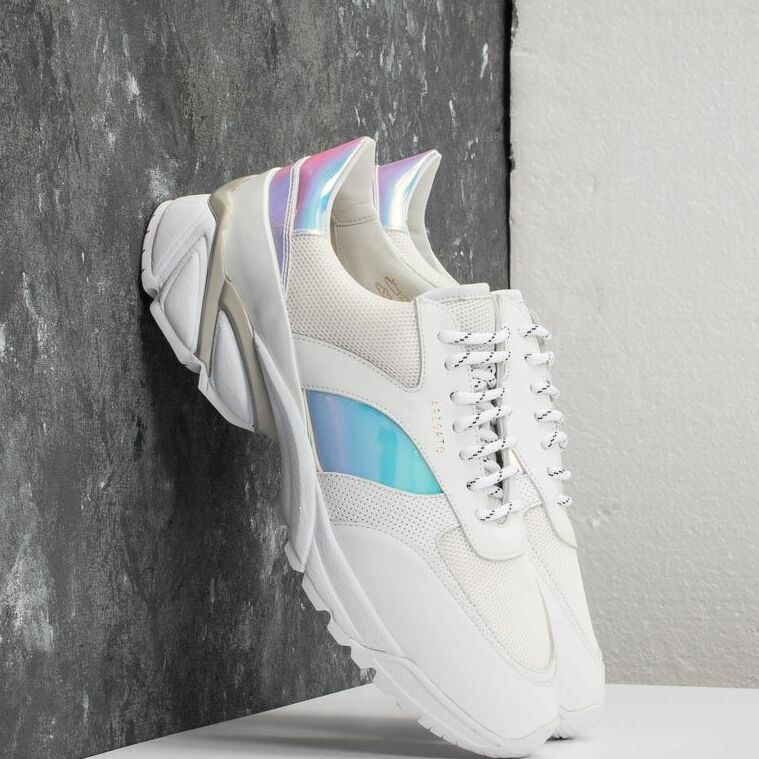 AXEL ARIGATO Tech Runner Leather/ Canvas White 30072