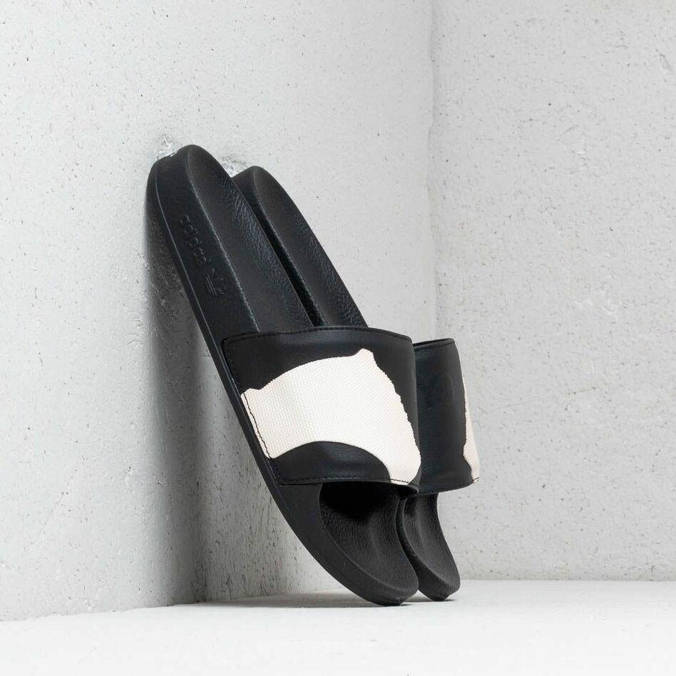 Y-3 Adilette Core Black/ Core Black/ Ftw White F97498