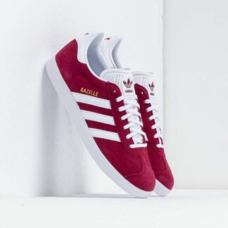 adidas Gazelle Cburgundy/ Ftw White/ Gold Metalic B41645