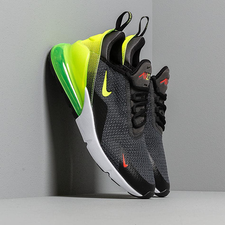 Nike Air Max 270 Se Anthracite/ Volt-Black-Bright Crimson AQ9164-005