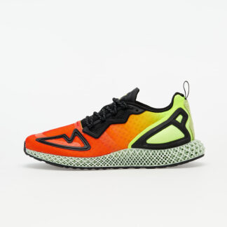 adidas ZX 2K 4D Solar Yellow/ Hi-Res Red/ Core Black FV9028