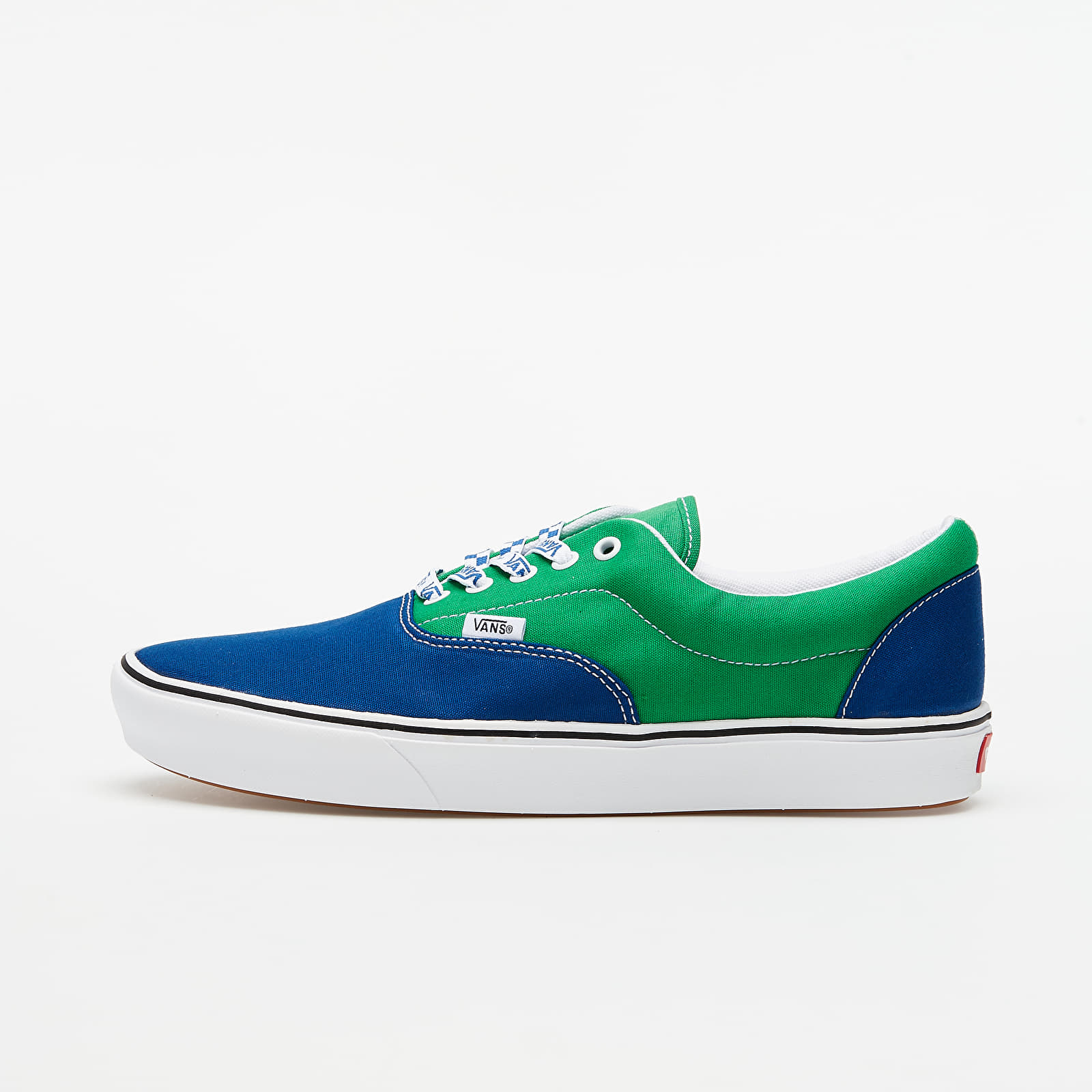 Vans ComfyCush Era (Lace Mix) True White/ Fern Green VN0A3WM9WI11