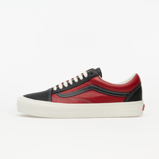 Vans Old Skool VLT LX (Leather) Black/ Chilli Pepper VN0A4BVF22C1