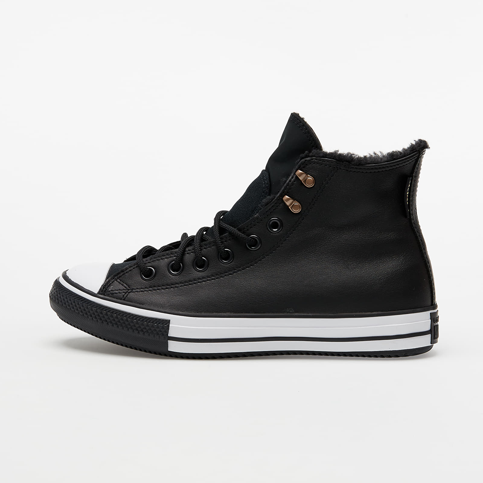 Converse Chuck Taylor All Star Winter Hi Black/ Black/ White 165936C