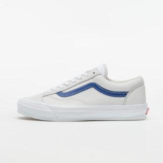Vans OG Style 36 LX (Leather) Blue/ True White VN0A4BVE21B1