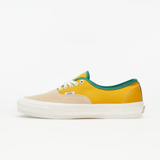 Vans OG Authentic LX (Suede/ Canvas) Yellow/ Green VN0A4BV91XX1