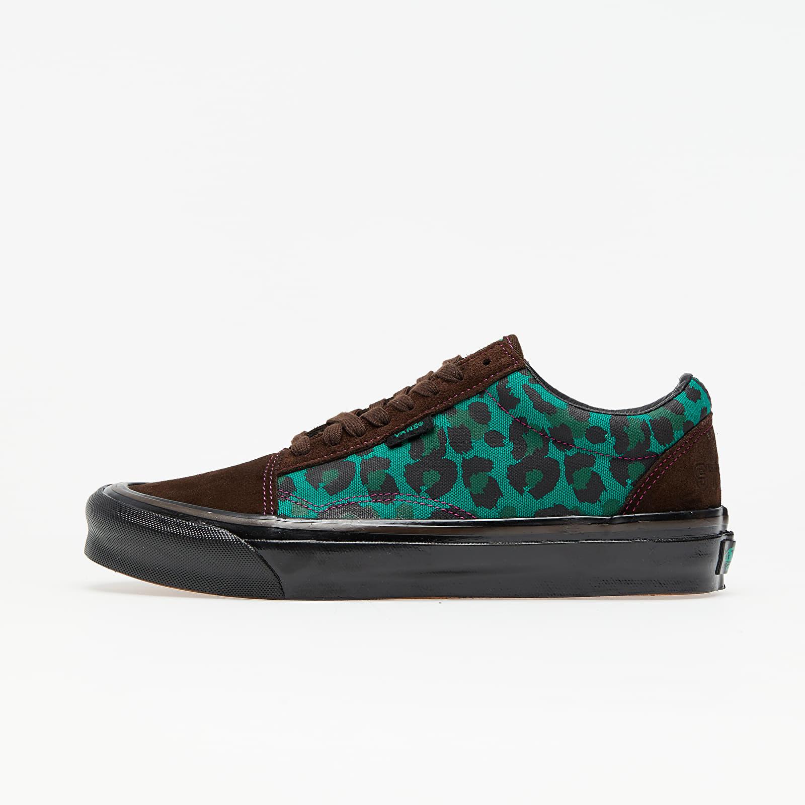 Vans Old Skool NS OG LX (Stray Rats) Brown/ Green VN0A4UUTK031