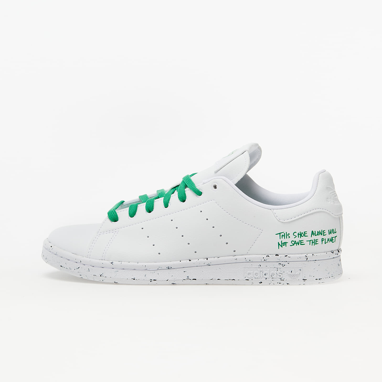 adidas Stan Smith Clean Classics Ftw White/ Ftw White/ Green FU9609