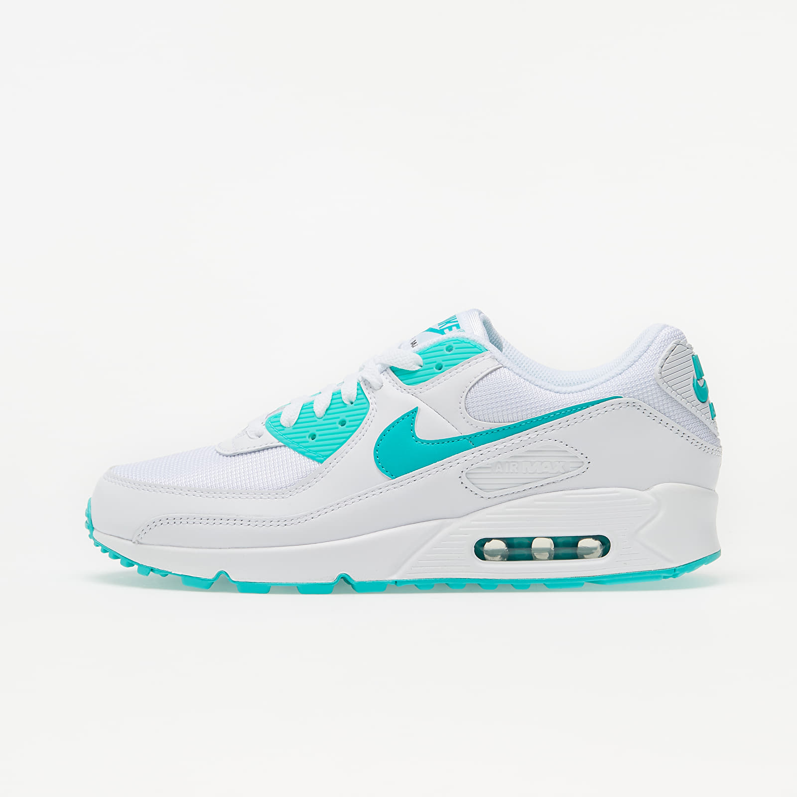 Nike Air Max 90 White/ Hyper Jade-Black CT1028-102