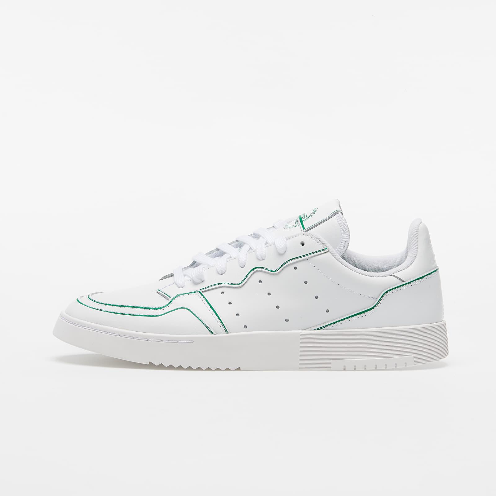 adidas Supercourt Ftw White/ Ftw White/ Green FX9059