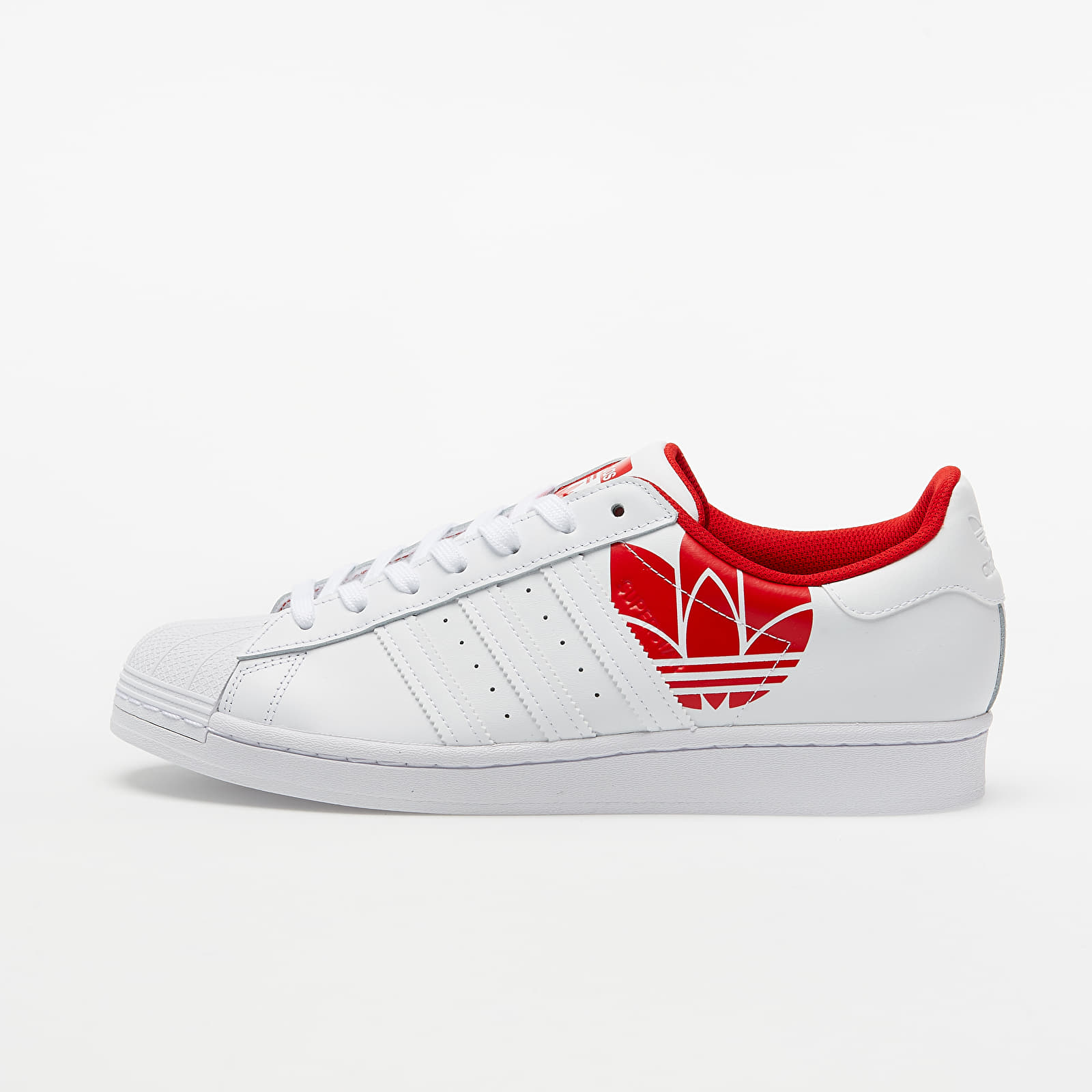 adidas Superstar Ftw White/ Ftw White/ Scarlet FY2828