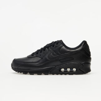 Nike Air Max 90 Leather Black/ Black-Black CZ5594-001